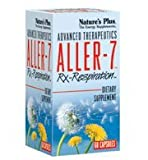 Advanced Therapeutics, Aller-7, Rx Respiration, 60 Veggie Caps by Nature's Plus