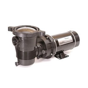 Pentair 347991 OptiFlo Horizontal Discharge Aboveground Pool Pump with 2 Speed Motor and Standard Plug, 1 HP