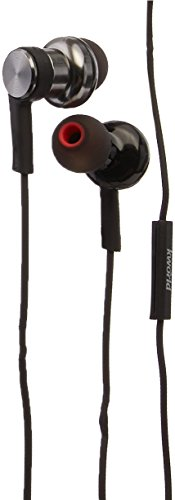 Black Headphone Grado (Enhanced Bass Headphone in-Ear with Dual air Chambers Structure, HD Memory Foam Tips, Frequency 5Hz to 70Khz Compatible with iPhone, Android, BlackBerry and Windows Phones (S34))