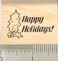 Decorative Display Wishing You a Bountiful Holiday Colorful Holiday Decoration Generic Holiday Rubber Stamp Thanksgiving Rubber Stamp