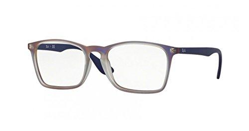 RAY-BAN RX7045F - 5486 EYEGLASSES - Ban Eyeglasses Ray Purple