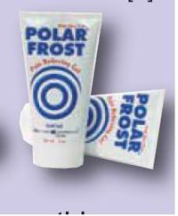 13707626 Polar Frost Cold Gel Tube 5oz 5oz Tube 12 Per Box sold as Box Pt# 11-0101 by Fabrication Enterprises