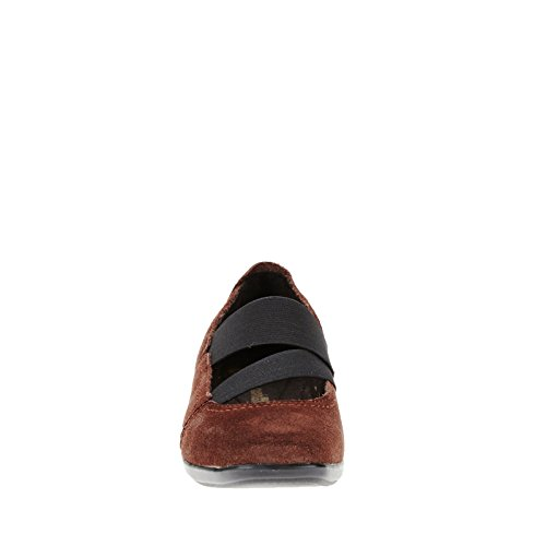 Clarks Haydn Juniper Flat Marrón (Brown Suede)