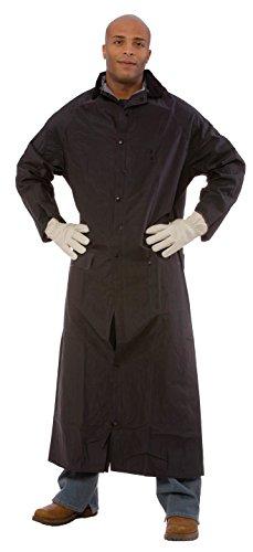 2 Piece Rainsuit Coat - Cordova Safety Products RC35B60XL  Renegade Black Raincoat, , 2-Piece, X-Large