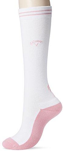 (キャロウェイ アパレル) Callaway Apparel [ レディース] 防菌 防臭 ハイソックス (機能素材ドラロン) / 241-8185805 / かわいい 靴下 ゴルフ