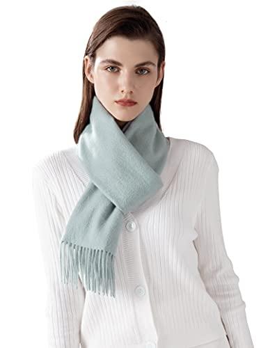 Jushkune Sciarpa in cashmere cashmere di lusso 100% sciarpa panno nocciola femminile lungo spesso