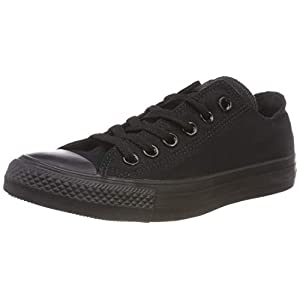 Converse Chuck Taylor All Star, Zapatillas Unisex, Negro (Black Mono)