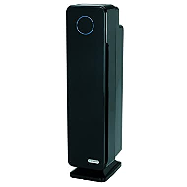 GermGuardian AC5350B Elite 4-in-1 True HEPA Air Purifier System with UV Sanitizer and Odor Reduction, 28-Inch Digital Tower