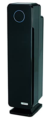 GermGuardian AC5350B Elite 4-in-1 Air Purifier with True HEPA Filter, UV-C Sanitizer, Captures Allergens, Smoke, Odors, Mold, Dust, Germs, Pets, Smokers, 28-Inch Germ Guardian Large Room Air Purifie