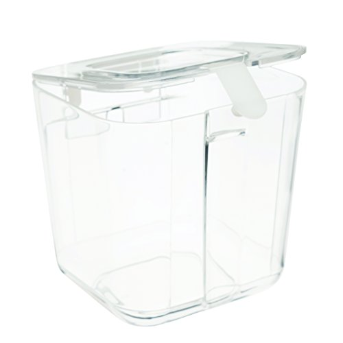 Stamp Caddy - Deflecto Caddy Organizer Compartment, Small, Clear (29101CR)