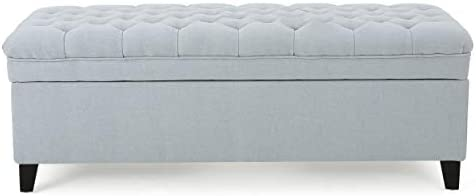 Christopher Knight Home Juliana Fabric Storage Ottoman