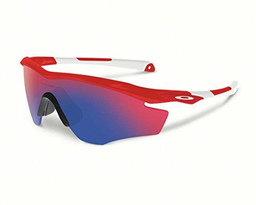 Oakley M2 Frame Non-Polarized Iridium Shield Sunglasses,Redline,145 - Oakley Z87