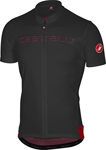 Castelli Prologo V Jersey - Men's Black, ()