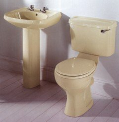 cream toilet seat soft close. Toilet Inc Seat  Close Coupled Champagne Soft Cream Shown In Picture