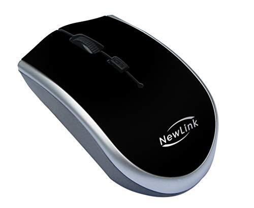 Mouse Óptico sem Fio Start 1600 dpi 2.4 GHz, 01 Unidade, Newex, 70.0025, Outros Acessórios para Notebooks, Preto