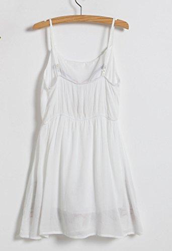 D-Pink - Vestido - para mujer Weiß