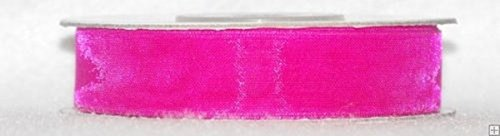Ribbon Sheer Fuchsia Organza (1/8