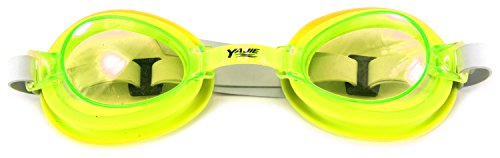 (Yajie Kid's Tempered Glass Children's Swimming Goggles (Yellow))
