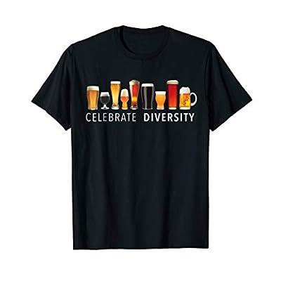 Celebrate Diversity Craft Beer Drinking T-Shirt T-Shirt