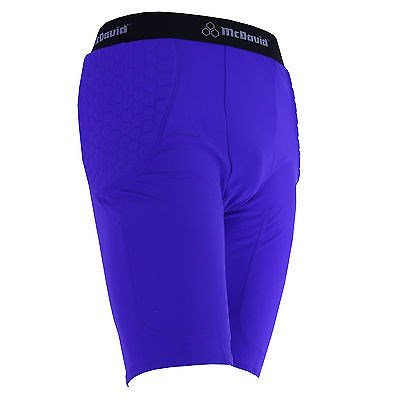 Football Shorts Classic (McDavid 755 Classic Logo Adult Pro Hex Pad Football Girdle Compression Shorts)