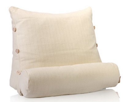 Great Deal! Easem Lumbar Support, Multi-purpose Cushion, Ergonomic Pillow (Medium, Beige)