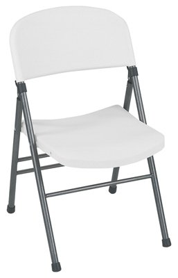 Cosco Inc 4 Packs WHT Speck Molded Chair by Cosco