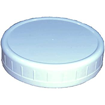 "'Wide-Mouth Reusable Plastic Lids for Canning Jars, 8 Count, Mainstays (3.62"" dia x .75"" H)' from the web at 'https://images-na.ssl-images-amazon.com/images/I/31i8ar0jyzL._SL500_AC_SS350_.jpg'"