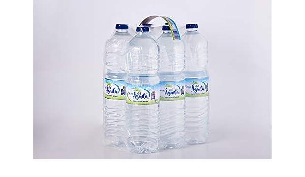 SIERRA DEL AGUILA - Agua Mineral Natural Embotellada - Pack Botellas de 6 x 1,5L: Amazon.es: Alimentación y bebidas