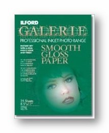 ILFORD Galerie Professional Inkjet 13X19-25 Sheet - Smooth Gloss