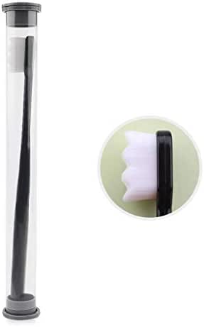 Kitt 12000 Soft Micro-nano Hairy Manual Toothbrushes Care Toothbrush for Tooth Sensitivity Children Deciduous Tooth Pregnant Woman Postpartum Oral Care (D)