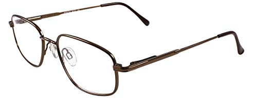 ArtCraft WF827SS Protective Eyewear Unisex Full Rimmed Stainless Steel Frames in Navigator Shape Offered in Brown & Ruthenium color from Eyeweb