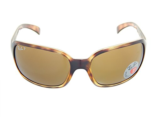 b421743fb9 Ray Ban 4068 Sunglasses Brown Polarized Tortoise 64257 - Hibernian ...