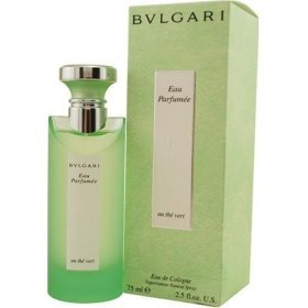 Eau Parfumee Au the Vert Green Tea by Bvlgari, 2.5 oz Eau De Cologne Spray, UNISEX. Bulgari