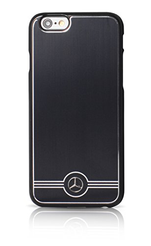 Mercedes-Benz Pure Line Aluminium Hard Case für Apple iPhone 6/6S 11,3 cm (4,7 Zoll) schwarz