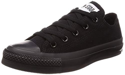 Converse Unisex Chuck Taylor All Star Low Top Black Monochrome Sneakers - 9 D(M) US
