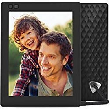 Nixplay Seed 8 inch WiFi Digital Photo Frame - Black