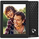 Nixplay Seed 8 Inch WiFi Cloud Digital Photo Frame with IPS Display, iPhone & Android App, iOS Video Playback, Free 10GB Online Storage, Alexa Integration and Hu-Motion Sensor - Black (W08D)