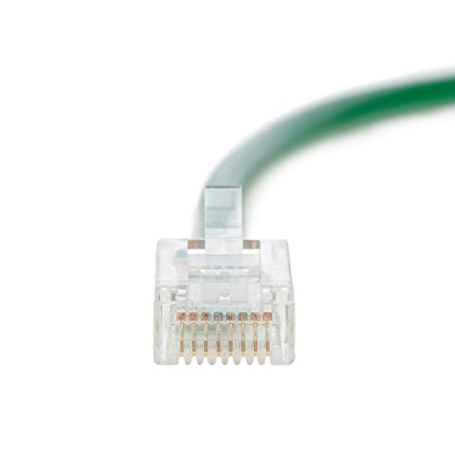 24AWG Network Cable with Gold Plated RJ45 Non-Booted Connector GOWOS Cat6 Ethernet Cable 550MHz Red 10 Gigabit//Sec High Speed LAN Internet//Patch Cable 5-Pack - 100 Feet