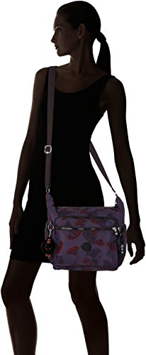 Kipling Gabbie, Bolso Bandolera para Mujer, 35.5x30x18.5 cm (B x H x T) Varios colores (Floral Night)