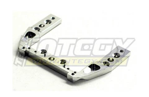 Lst Chassis - Integy RC Model Hop-ups T8314SILVER Front Upper Chassis Brace for Mini-LST