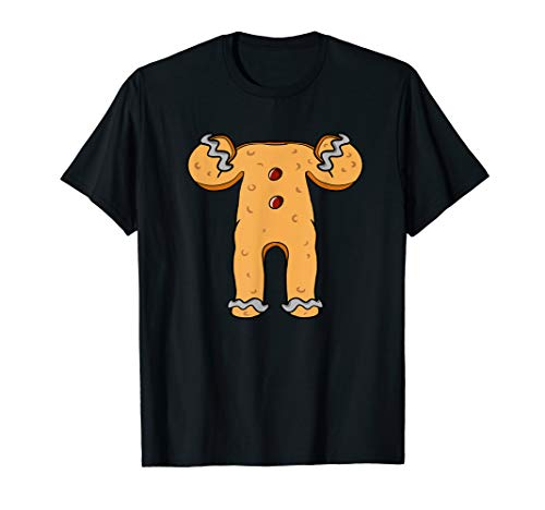 Gingerbread Man Costume TShirt Funny Gift for Men Women Kids -