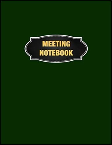amazon com meeting notebook meeting minutes record log book notes