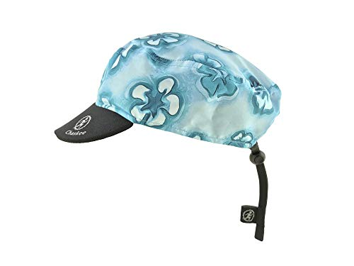 chaskee Reversible Base Cap Reversible Cap Hibiscus en azul