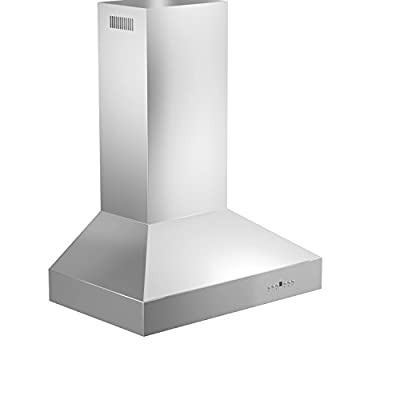 ZLINE 42 in. 400 CFM Remote Blower Wall Mount Range Hood in Stainless Steel (697-RS-42-400 )