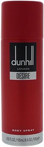 Dunhill Desire Red Body Spray 215Ml, Dunhill