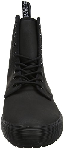 Dr Leather Boots Eyelet Winsted Martens 8 Womens Black S1UqS