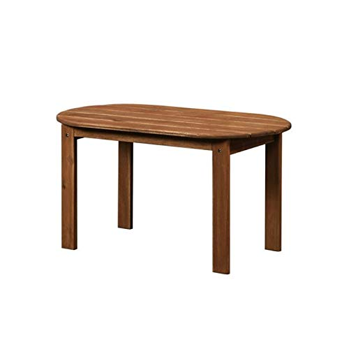 Hawthorne Collections Adirondack Patio Coffee Table in - Furniture Adirondack Collection Teak