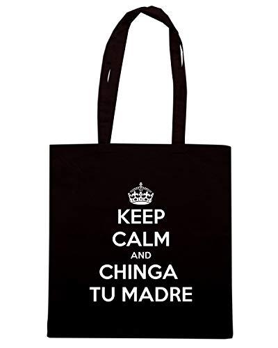 KEEP MADRE Speed Nera TU Borsa CALM Shopper TKC1953 CHINGA Shirt AND wvXF7XqZ
