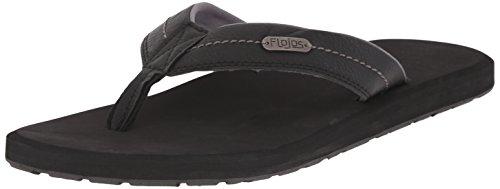 Flojos Men's Zane Sandal, Black, 11 M US ()