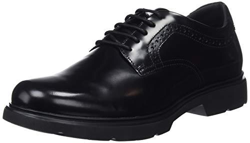 U Derbys A Geox C9999 Homme Arrall black Noir 4PTddw8xq